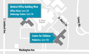 DCC Campus Map