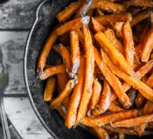 game day sweet potato fries