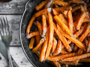 game day sweet potato fries