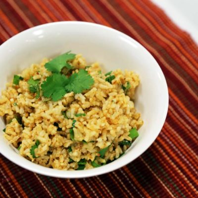 Fiesta Brown Rice