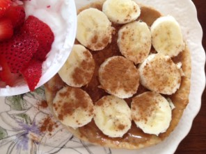 peanut butter and banana