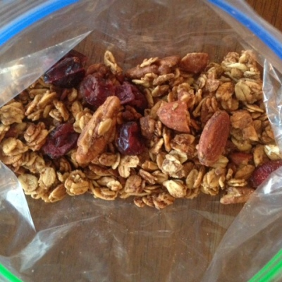 Toasted Nut Granola