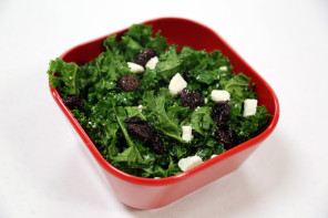 Kale, Cherry and Feta Salad