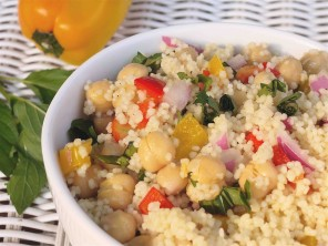 Chickpea Couscous Salad